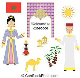 モロッコ, セット