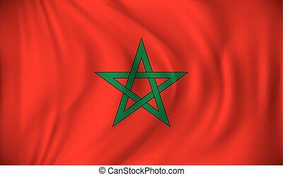 モロッコ, 旗