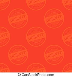 モロッコ, seamless, パターン