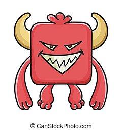 モンスター, 悪魔, 漫画, 悪, 赤の広場