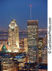 モントリオール, 夕闇