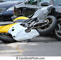 モーターバイク, accident.