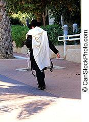 ユダヤ人, 伝統的である, 祈ること, 宗教, ローブ