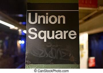ユニオン・スクェア, 駅, ニューヨーク