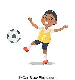 ユニフォーム, ナンバー2, indian, スポーツ, 男生徒
