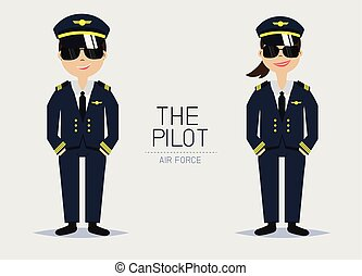 ユニフォーム, 士官, パイロット