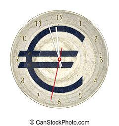 ユーロ, 隔離された, 時計