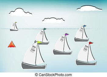 ヨット, レース