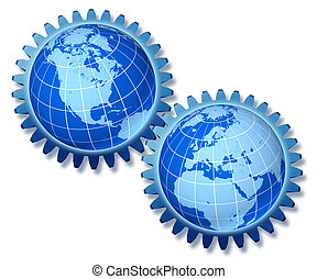 ヨーロッパ, アメリカ, 北, ビジネス