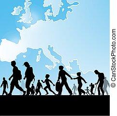 ヨーロッパ, 人々, 移住
