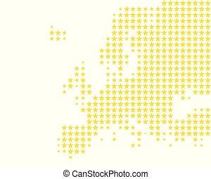 ヨーロッパ, 地図