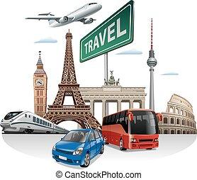 ヨーロッパ, 旅行, 旅行