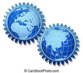ヨーロッパ, 概念, アジア, 取引しなさい