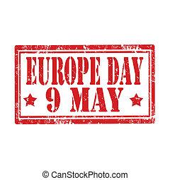 ヨーロッパ, day-stamp