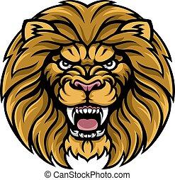ライオン, スポーツ, マスコット