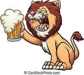 ライオン, ビール