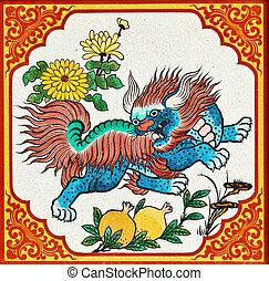 ライオン, 中国語