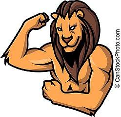 ライオン, 強い
