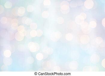 ライト, ぼんやりさせられた, クリスマス, 背景, ホリデー