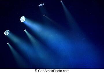 ライト, カラフルである, ステージ