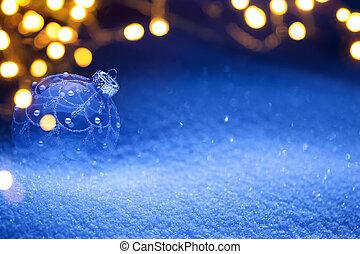 ライト, クリスマス, 背景