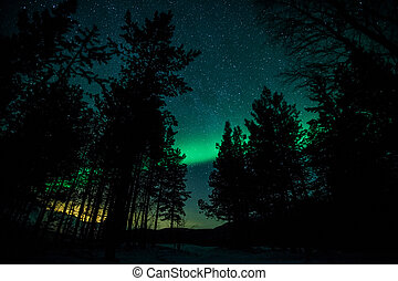 ライト, スウェーデン, 北