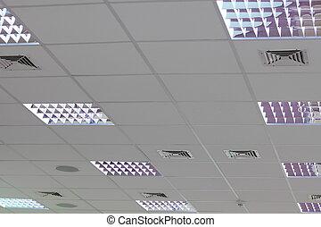 ライト, セット, 屋根