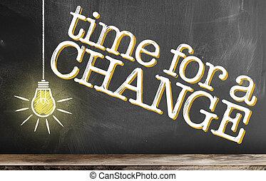 ライト, チョーク, 白熱, テキスト, 黒板, 時間, 電球, 図画, 変化しなさい