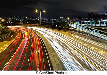 ライト, ハイウェー, 道