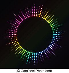 ライト, ベクトル, カラフルである