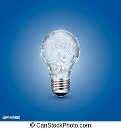 ライト, ベクトル, メカニズム, 電球