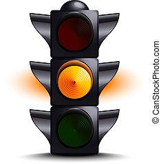 ライト, 交通, 黄色