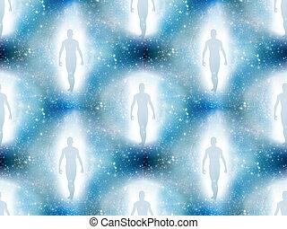 ライト, 人間の数字