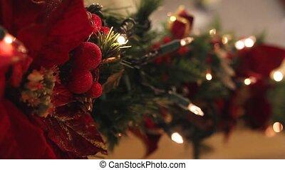 ライト, 休日, クリスマス, まばたきする