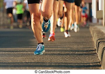 ライト, 動くこと, ev, マラソン