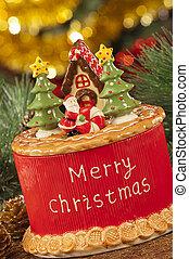 ライト, 大気, クリスマスの 装飾, 蝋燭