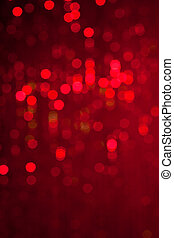 ライト, 抽象的, クリスマス, 背景