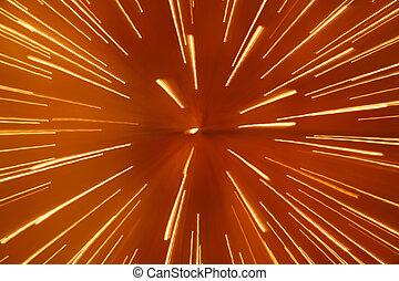 ライト, 抽象的, スピード, 背景
