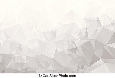 ライト, 抽象的, モザイク, 背景, 灰色