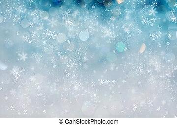 ライト, 抽象的, 休日, クリスマス, 背景