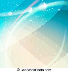 ライト, 抽象的, 夢のようである, 背景
