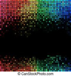 ライト, 抽象的, 背景, ディスコ