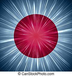 ライト, 旗, 光線, 日本語