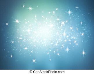 ライト, 明るい, 背景, お祝い