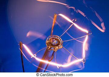 ライト, 明るい, 電球