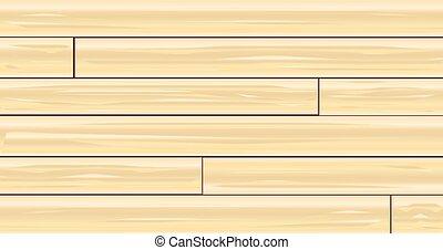 ライト, 木製板