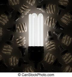 ライト, 白熱, 一人一人, 他, 電球