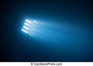 ライト, 競技場