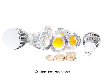 ライト, 経済的