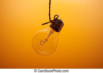 ライト, 背景, 電球